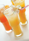 Assorted beverages Royalty Free Stock Photo