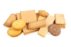 Assorted biscuits Stock Photo