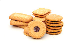 Assorted biscuits Royalty Free Stock Photos