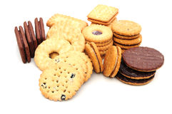Assorted biscuits Royalty Free Stock Image