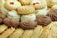 Assorted Biscuits and cookies Royalty Free Stock Photography