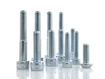 Assorted Bolts Stock Photos