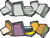 Assorted Books Stock Images