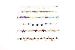 Assorted bracelets Stock Images