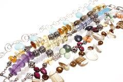 Assorted bracelets Royalty Free Stock Photo