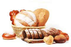 Assorted bread Stock Photography