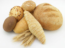 Assorted bread Stock Photo