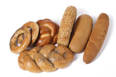 Assorted Bread. Different kind of bread Royalty Free Stock Photo
