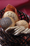 Assorted bread Royalty Free Stock Photography