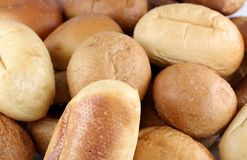 Assorted Bread Rolls Royalty Free Stock Images