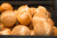 Assorted bread with seeds and sesame. Stock Image