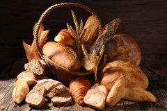 Assorted bread Royalty Free Stock Photo