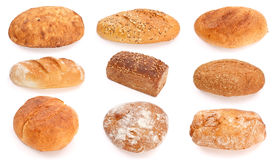 Assorted breads Royalty Free Stock Photos