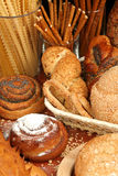 Assorted breads Royalty Free Stock Photography