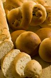 Assorted breads Royalty Free Stock Image