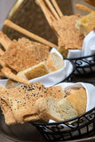 Assorted breads Basket Royalty Free Stock Photo