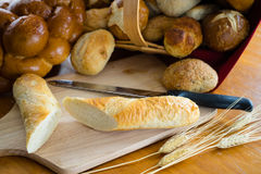 Assorted Breads and Rolls Royalty Free Stock Photo