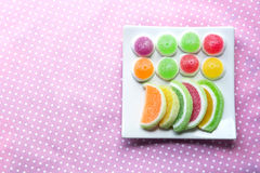 assorted, bright, candy, childhood, color, colorful Stock Photos