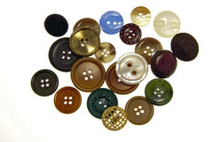 Assorted buttons Stock Photography