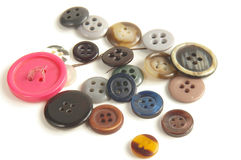 Assorted buttons. Buttons royalty free stock photography