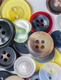 Assorted Buttons Represents Sewing Assortment And Diverse Royalty Free Stock Photos