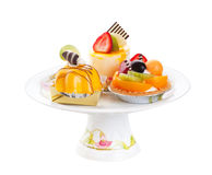 Assorted Cakes Stock Photography