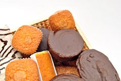 Assorted cakes Stock Image