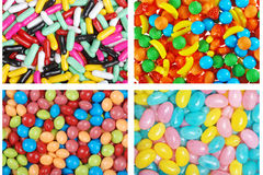 Assorted candies Stock Images