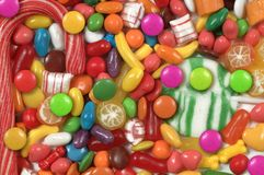 Assorted Candy Stock Photography