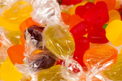 Assorted candy Royalty Free Stock Image