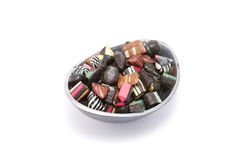 Assorted candy in a bowl Stock Photos