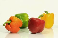Assorted capsicums Stock Images