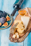 Assorted cheese Stock Images