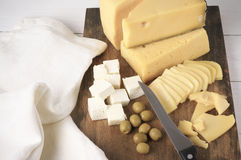 Assorted cheese Royalty Free Stock Image