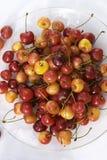Assorted cherries Stock Photos