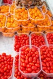 Assorted cherry tomatoes Stock Image
