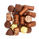 Assorted chocolate candies Royalty Free Stock Photos