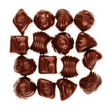 Assorted chocolate candies Royalty Free Stock Photography