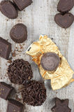 Assorted chocolate candies Stock Photography