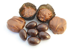 Assorted Chocolate Candy Royalty Free Stock Photos