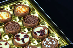 Assorted chocolate confectionery Royalty Free Stock Image