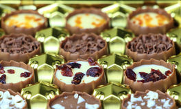 Assorted chocolate confectionery Royalty Free Stock Images