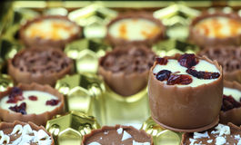 Assorted chocolate confectionery Royalty Free Stock Photo