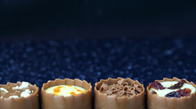 Assorted chocolate confectionery Royalty Free Stock Photography