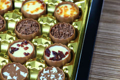 Assorted chocolate confectionery Stock Photography