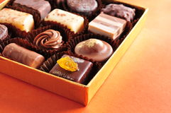 Assorted chocolate Stock Photography
