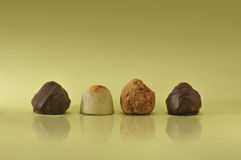 Assorted chocolate Stock Images