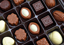 Assorted chocolate in packaging Stock Photography