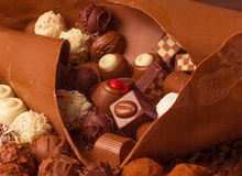 Assorted Chocolate Truffle royalty free stock image