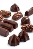 Assorted chocolates Stock Photos